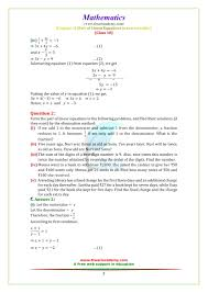ncert solutions for class 10 maths chapter 3 exercise 3 4