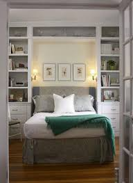 extremely tiny bedroom. A Floor-to-ceiling Fitted Unit Makes The Most Of Every Inch In This Bedroom. It Cleverly Incorporates Room To Display Treasures, Shelves For Books, Extremely Tiny Bedroom