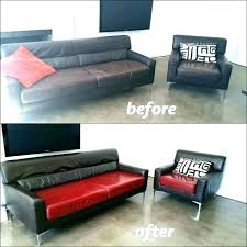 leather couch dye kit reviews sofa uk faux paint furniture gorgeous for