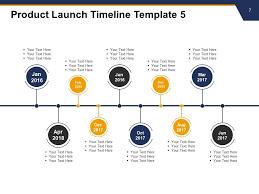 Timeline Powerpoint Slide Product Launch Timeline Powerpoint Presentation Slides