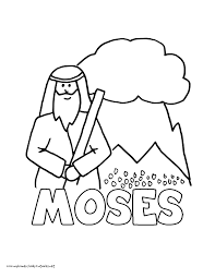 Moses Coloring Pages Free Download Jokingartcom Moses Coloring Pages