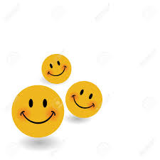 Smile Icon Background Template Smiley Faces Design Elements