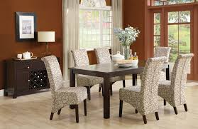 Floral Dining Room Chairs Dining Room Design Lovely Parsons Chairs For Home Furniture Ideas