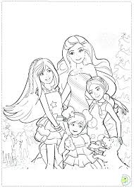 Barbie Coloring Pages Print Barbie Coloring Page Printable Free
