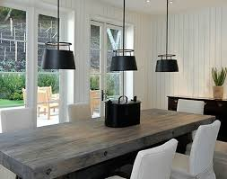Contemporary Dining Tables  Rustic Dining Tables  Solid Wood TablesModern Rustic Dining Furniture