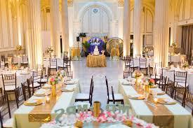 trery on the plaza wedding reception yellow