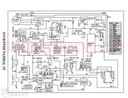 buyang atv 300 wiring diagram $0 00 chinese atv electrical schematic at Loncin 110cc Atv Wiring Diagram