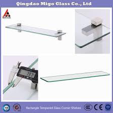 china bathroom shelf tempered glass