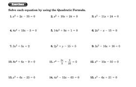 unit 8 quadratic equations homework 10 quadratic word problems answers