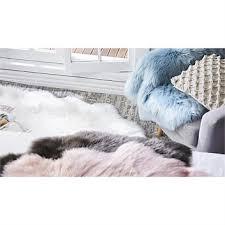 Faux sheepskin rugs Accent Briscoes Briscoes Urban Loft Faux Sheepskin Rug