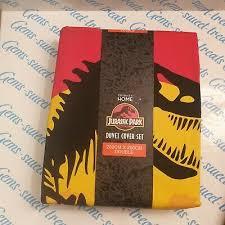 jurassic park dinosaur reversible duvet