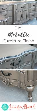 diy metallic furniture. diy silver furniture finish the magic brush this metallic painted is so popular diy i