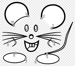 Connect matching colors with pipe to create a flow. Computer Mouse Connect The Dots Coloring Book Dot Game Angle Png Pngegg