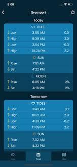 Tide Chart Near Me Tides Near Me On The App Store