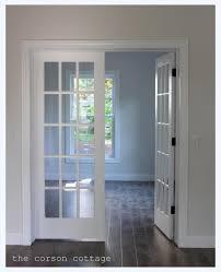 Modern White Interior French Doors Ideas