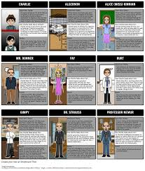 flowers for algernon summary character development more character map for flowers for algernon