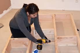 DIY California King Platform Bed Frame Plans Download how to build