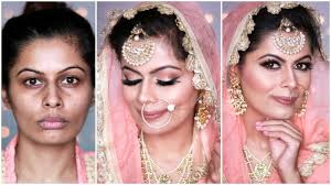 summer bridal makeup look hindi morning bridal look sikh bridal look pastel neutral look