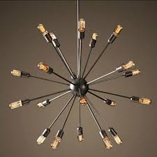 satellite chandeliers vintage wrought iron pendant light spherical spider lamp edison pendant lighting hanging light island lighting from alex quan