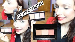 how to contour and highlight makeup revolution sculpt contour kit tutorial you