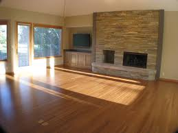 living room natural and durable strand bamboo flooring central oregon