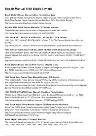 repair manual 1969 buick skylark pages 1 3 text version fliphtml5 rh fliphtml5 com diy