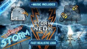 Add your logo to the template of your choice and see it come alive with stunning visuals. Electric Storm Logo Intro By Cyzer On Envato Elements