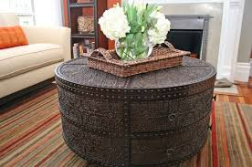 View In Gallery Round Coffee Table Artisan