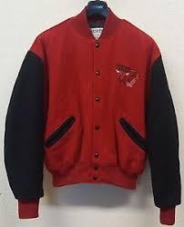 Delong Jacket Size Chart Details About Vintage 90s Delong Chicago Bulls Nba Wool Blend Varsity Letterman Jacket Large