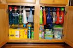 Image result for under the kitchen sink storage solutions