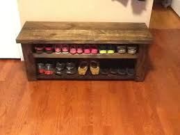 pallet furniture etsy. custom made farmhouse shoe rack bench by sawdustfurniture on etsy pallet furniture n