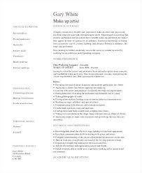 Artist Resume Example Administrative Resume Examples Artist Resume