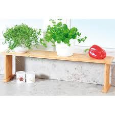 Kesper Küchen Regal Aus Fsc Bambus Fenster Bank Gewürz Kräuter