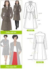 Coat Sewing Patterns Beauteous Stella Coat Style Arc