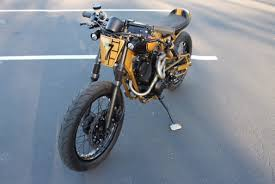 caferacersunited yamaha xv250 cafe tracker