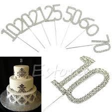 50th Anniversary Cupcake Decorations Popular Number Cake Toppers Buy Cheap Number Cake Toppers Lots
