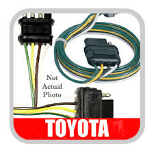 toyota land cruiser trailer wiring harness pin to 2000 2004 toyota tundra trailer wiring converter hitch service kit genuine 08921 34
