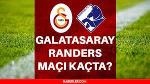 Galatasaray maçı kaçta? Galatasaray Randers maçı ne zaman, saat kaçta? Galatasaray  Randers maçı hangi kanalda? GS maçı ne zaman? İşte 11'ler! - Haberler