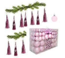 Christbaum Feiertagsschmuck In Rosa Günstig Kaufen Ebay