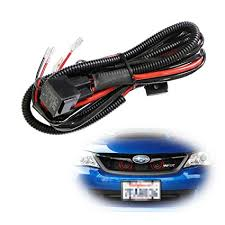 amazon com ijdmtoy (1) 12v horn wiring harness relay kit for car Ford Tractor Wiring Harness at Ford Explorer 1997 Wiring Harness Routing