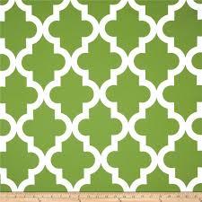 RCA Trellis Blackout Drapery Fabric Green - Discount Designer Fabric -  Fabric.com