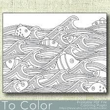 Small Picture 422 best Seas of life coloring pages images on Pinterest
