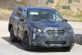 2018 subaru brat. brilliant 2018 spy photographers caught the subaru being tested with two similarsized  competitive vehicles a ford explorer and mazda cx9 for 2018 subaru brat