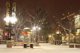 Pearl Street Lights Christmas Eve On Pearl Street Snow Bouldering Christmas