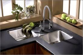 charming br double corner sink armhouse undermount kitchen