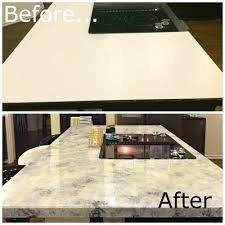 Sealing Painted Countertops A Dream Design On A Dime Faux Granite Better Than The Real Thing
