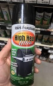 spray paint over brass fireplace with rustoleum ultra heat spray paint