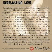 Everlasting Love Quotes