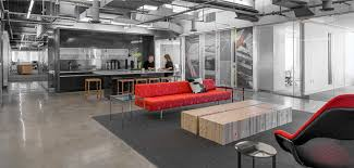Collaborative office space Cool The Perkinswill Boston Office Features Kitchen Space That Also Serves As Meeting Area And An Open Office That Provides Collaboration Spaces Throughout Work Design Magazine Three Tips For Tailoring Collaborative Workspace