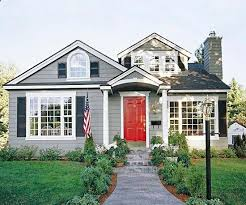 houses with red front doors. Wonderful Houses Ranch House Grey Paint And Red Door  Gray PRETTY On Houses With Red Front Doors O